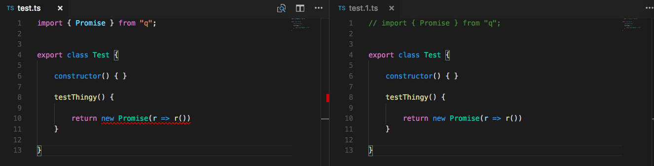 VisualStudio Code Auto Imports Issue